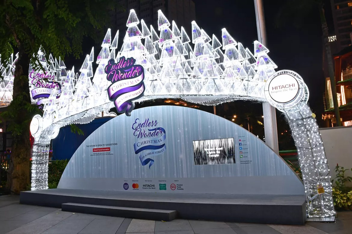 Orchard Road Christmas Light-Up 2017