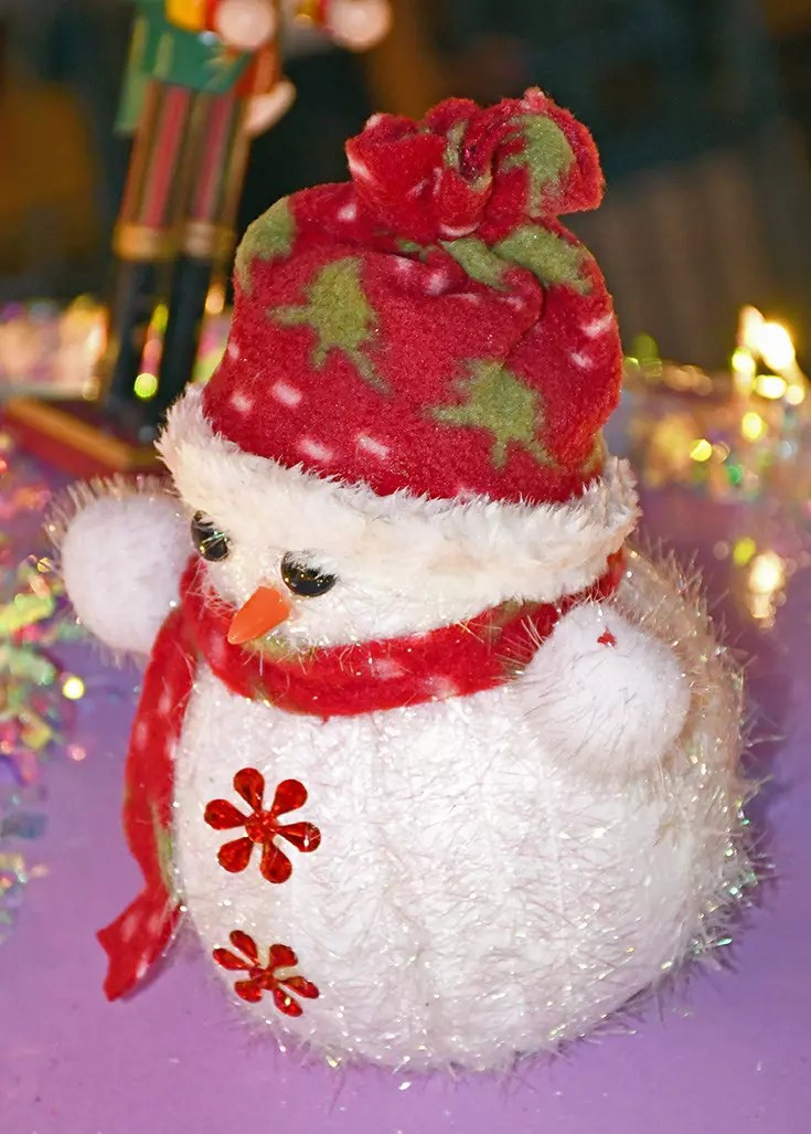 Snowman decoration, Orchard Road Christmas Light-Up 2017