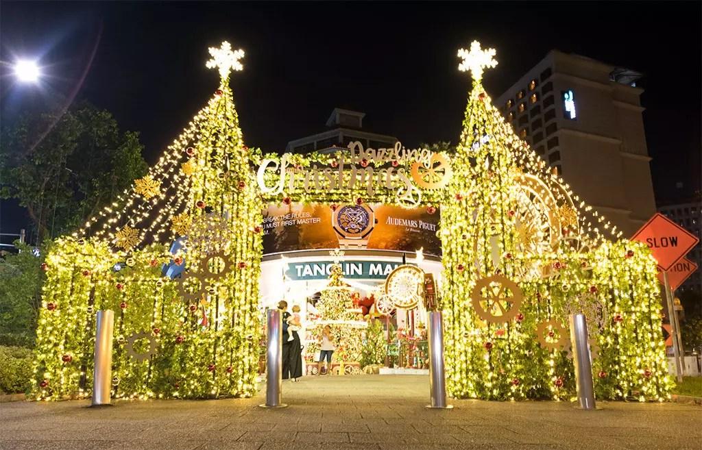 Tanglin Mall Christmas Decoration 2017.