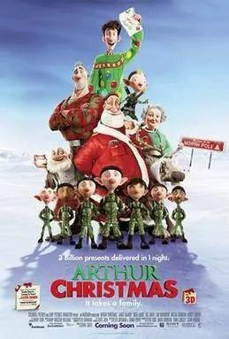 7 Day Netflix Christmas Movie Binge - Arthur Christmas