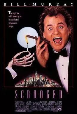 7 Day Netflix Christmas Movie Binge - Scrooged