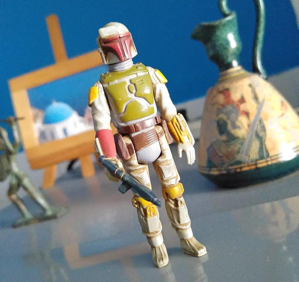 Vintage Boba Fett Toy Figurine