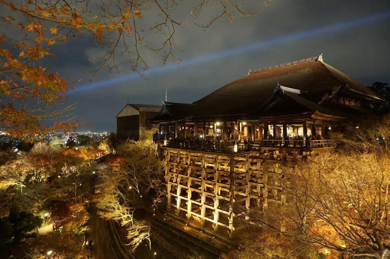 Kiyomizu Dera Night Illumination