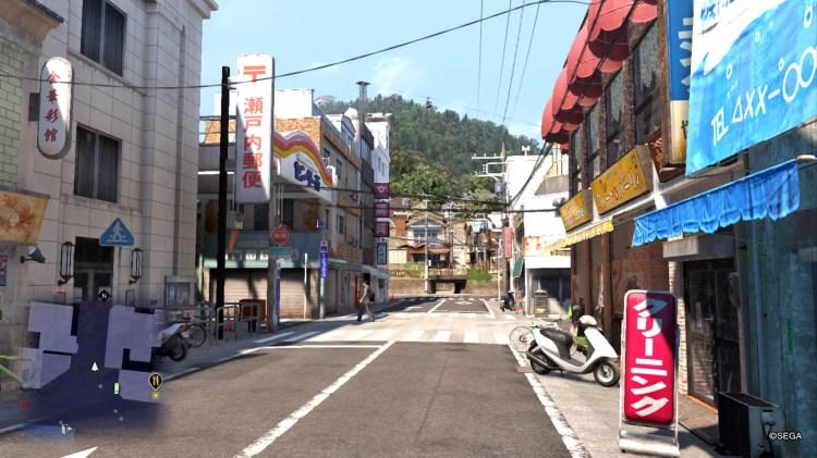 Ryū ga Gotoku 6 Screenshot - Onomichi Street.