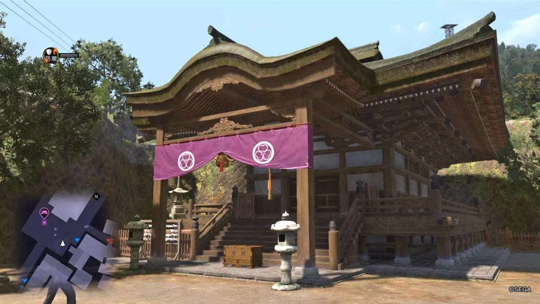 Ryū ga Gotoku 6 Screenshot - Onomichi Shrine