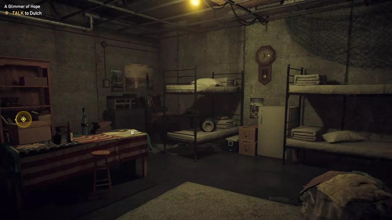Far Cry 5 Dutch's Bunker.