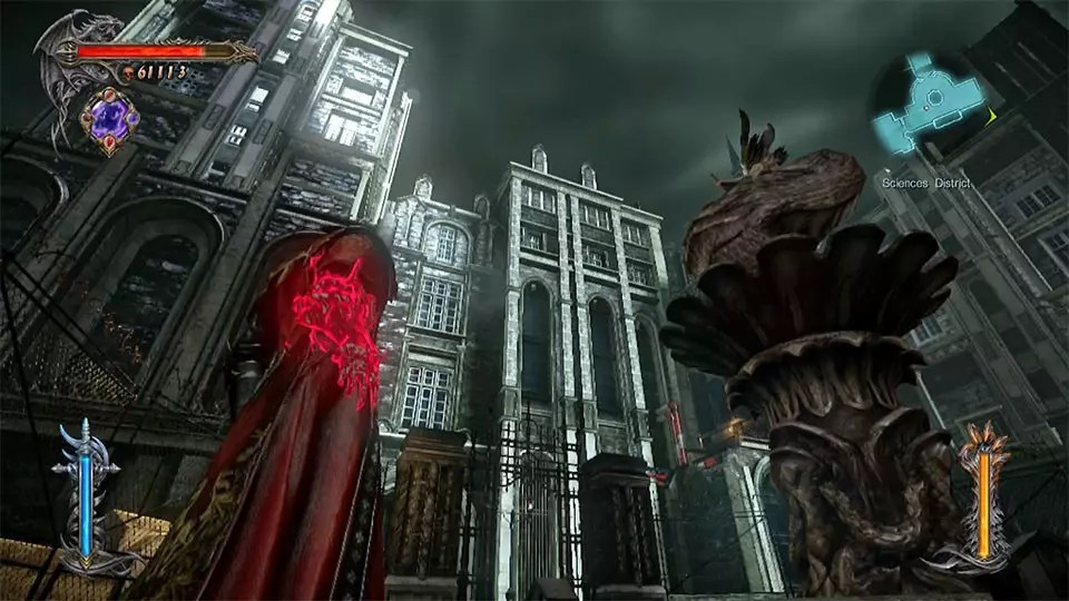 Castlevania: Lords of Shadow 2 Sciences District.