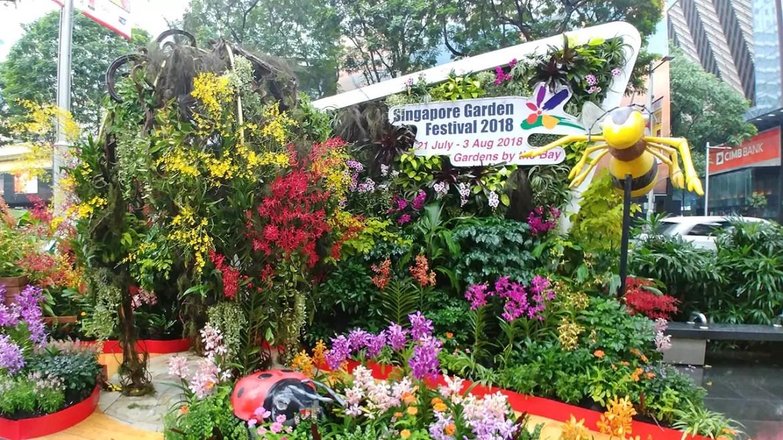 Singapore Garden Festival 2018 Outdoor Display