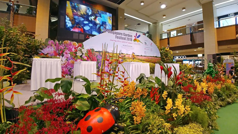 Launch of Singapore Garden Festival 2018
