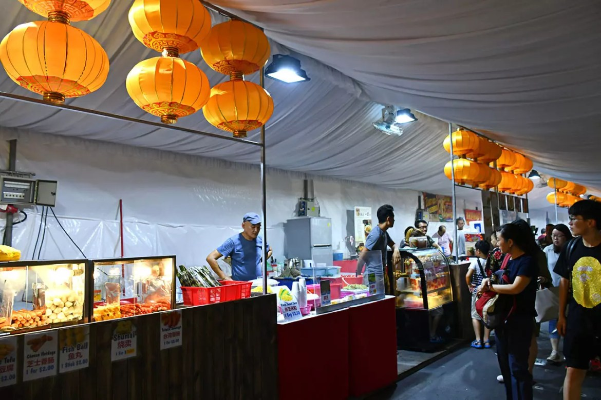 Gardens by the Bay Mid-Autumn Festival 2018 Food Street