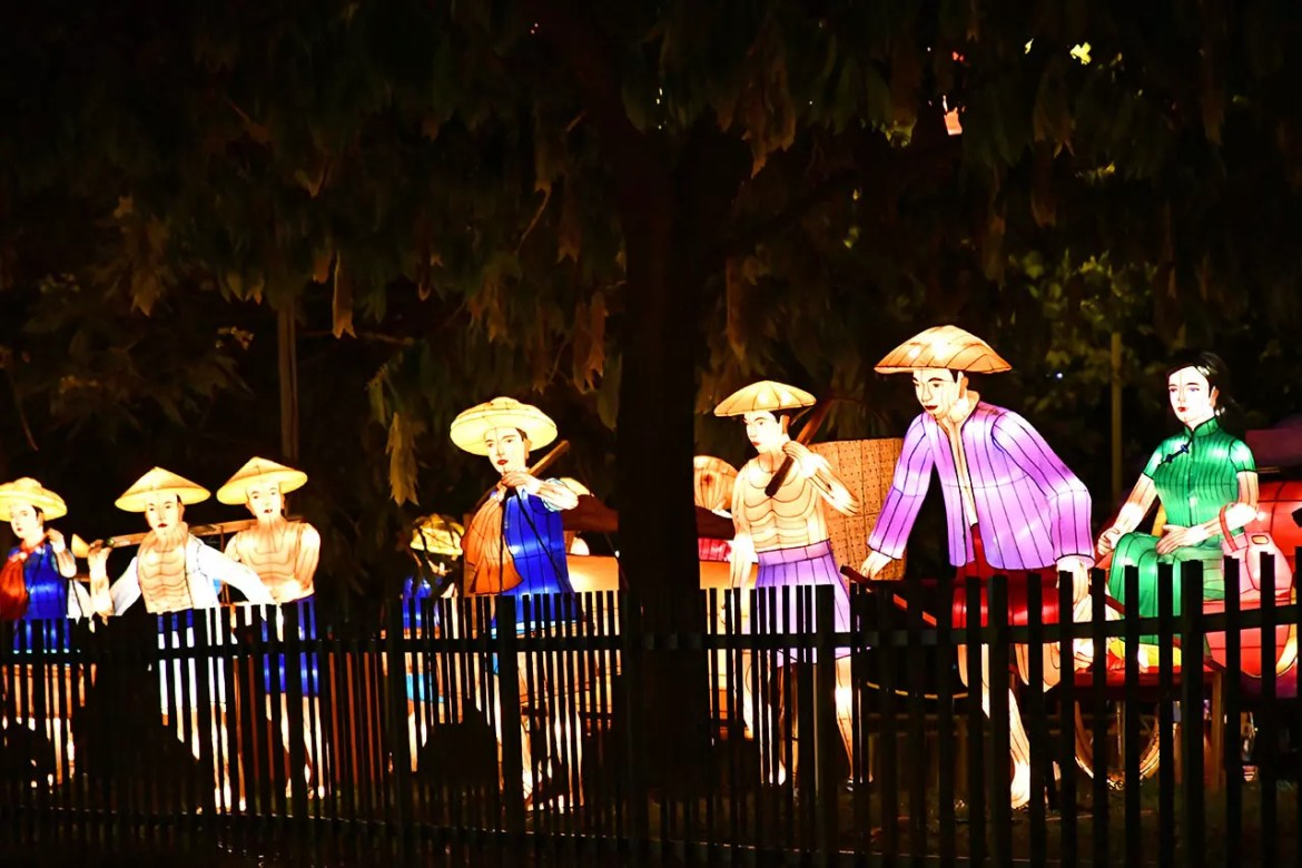 Chinatown Mid-Autumn Festival 2018 - Coolies and Richshaw