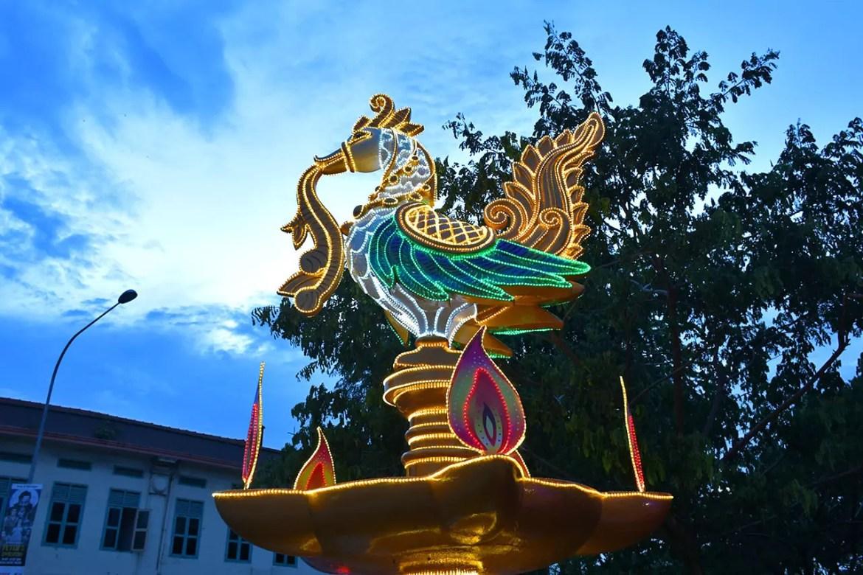 Little India Deepavali Light-Up 2018 Peacock