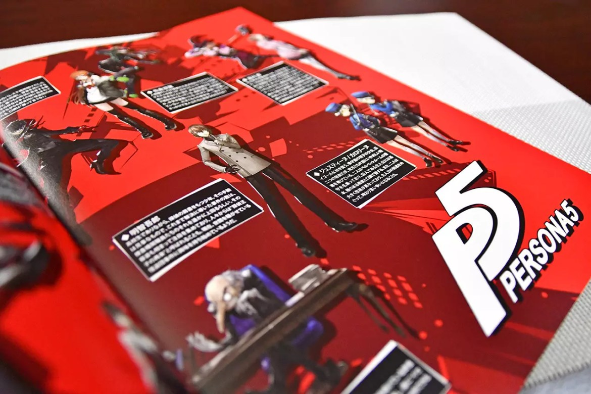 Character introductions in Persona 5 Original Soundtrack Selection for the Electone Stagea.