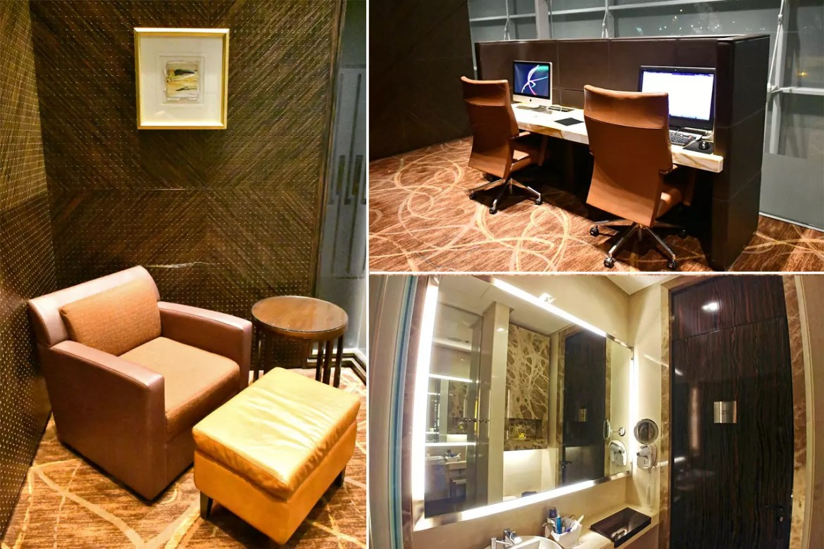 Singapore Airlines The Private Room Facilities.
