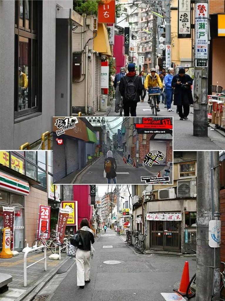 A Persona 5 Tourist in Tokyo | Sangen-jaya Station Backstreets