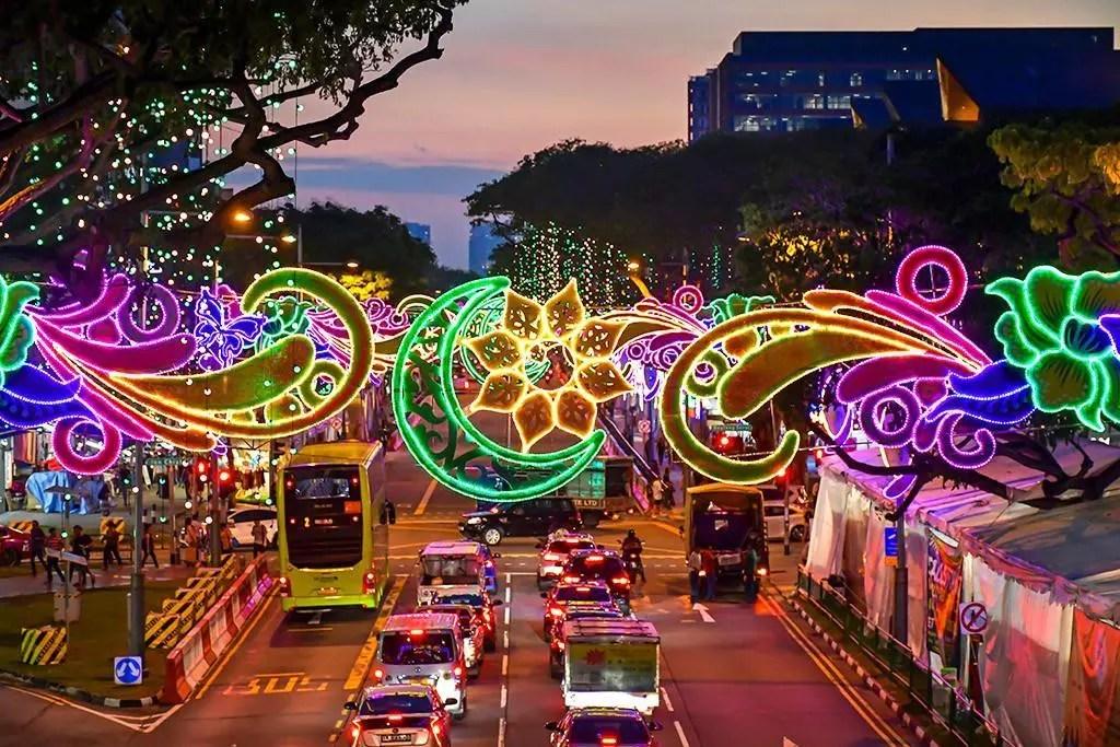 Geylang Serai Festive Lights 2019