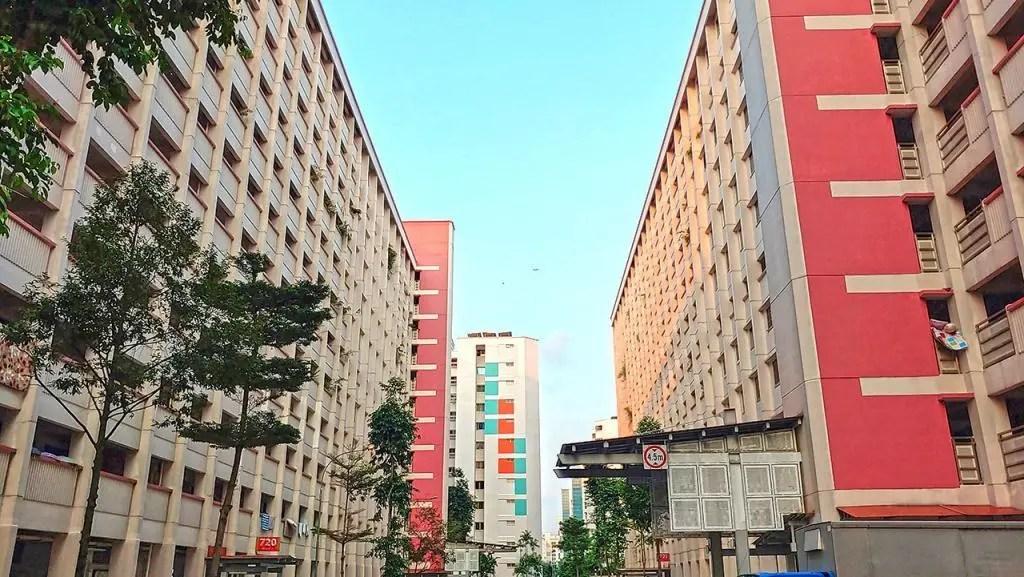 Yishun Flats.