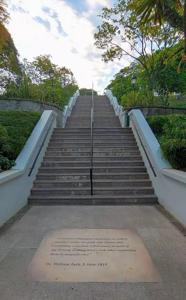 Fort Canning Hill Steps