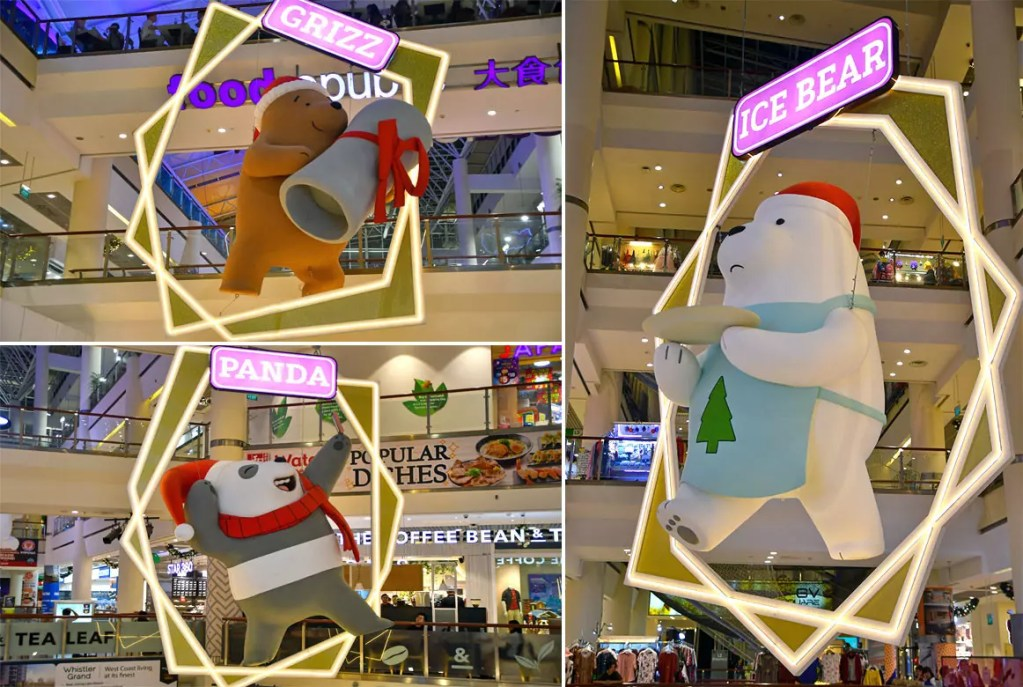 We Bare Bears at City Square Mall.