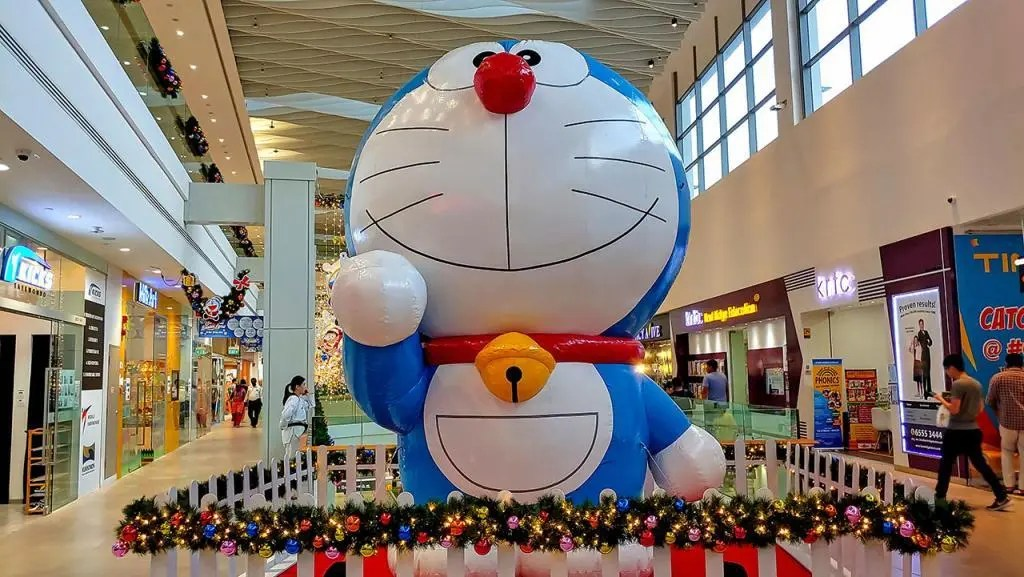 Doraemon at AMK Hub