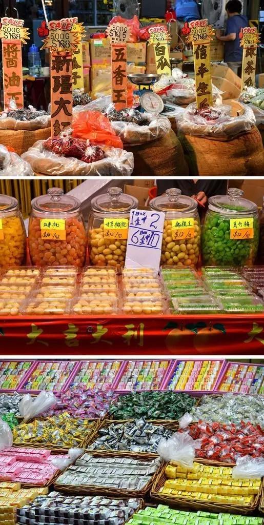 Chinatown Chinese New Year Festive Snacks