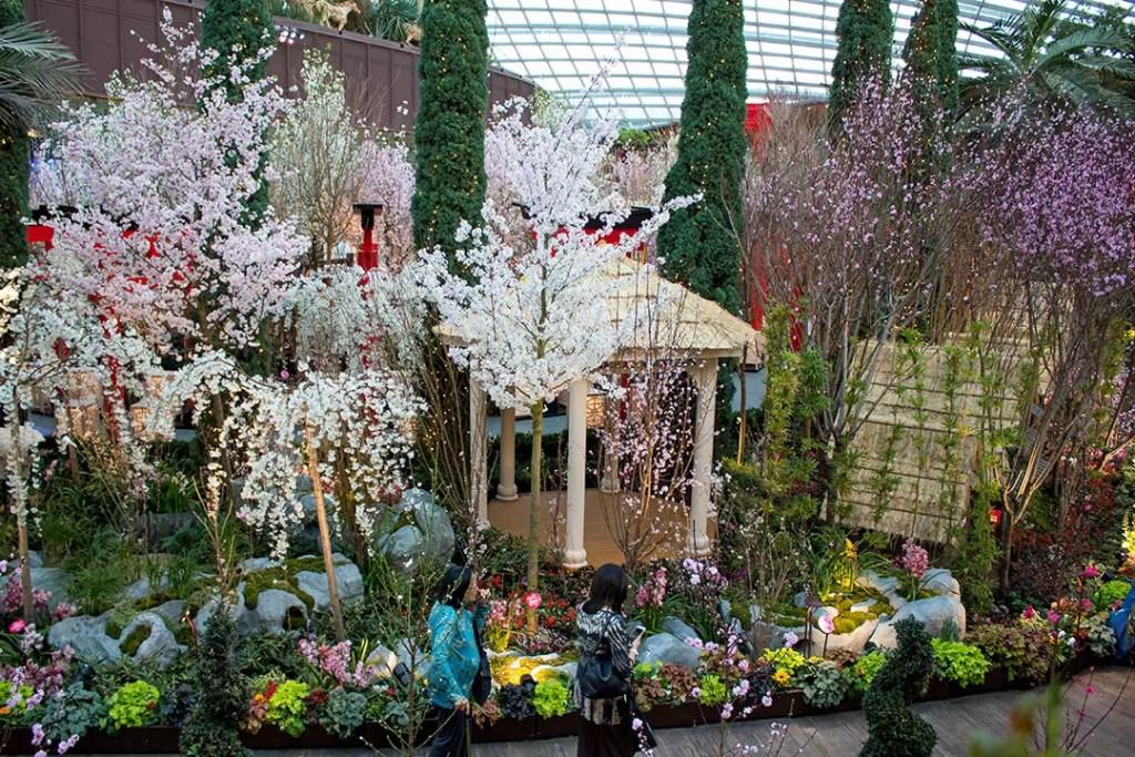 Gardens by the Bay Sakura Matsuri.
