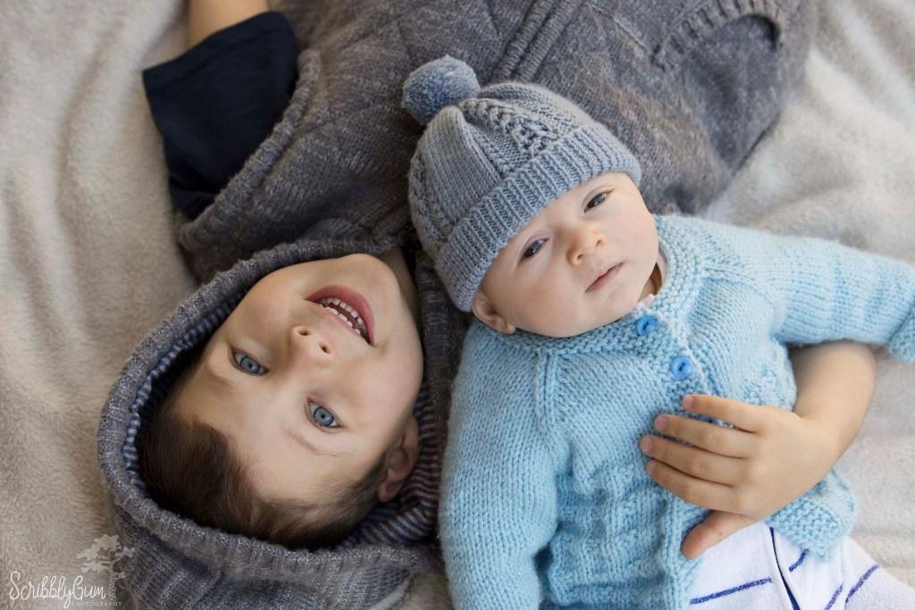 newborn photoshoot at home