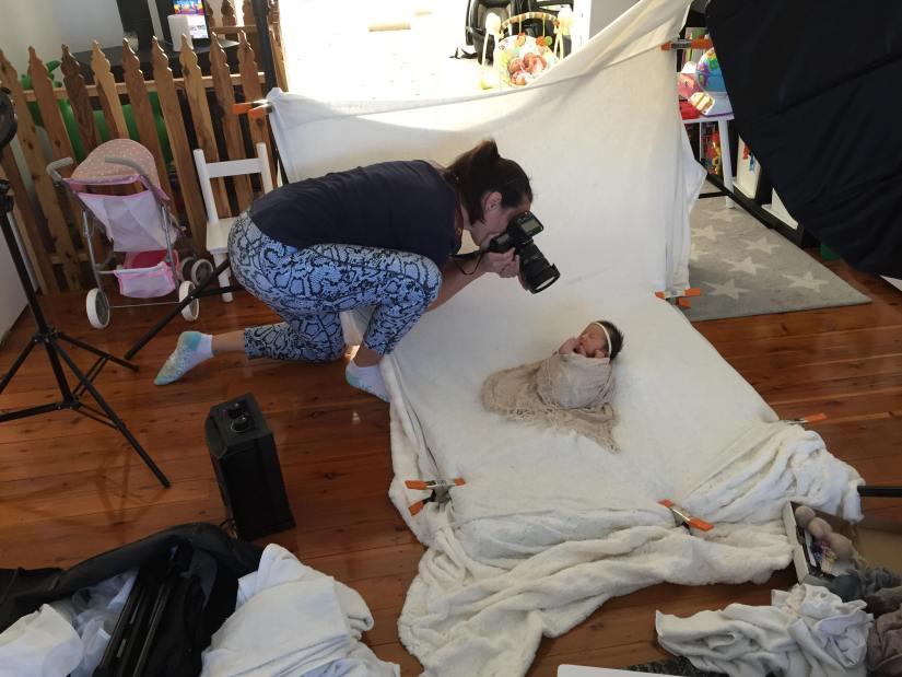 Rachel Lee In home newborn photographer
