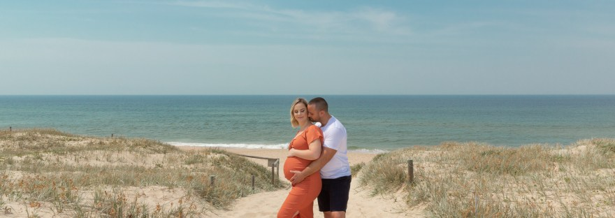 Beach Maternity Photoshoot