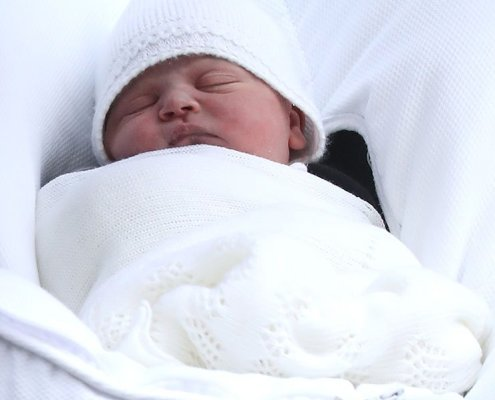 Prince Louis Arthur Charles of Cambridge is Here