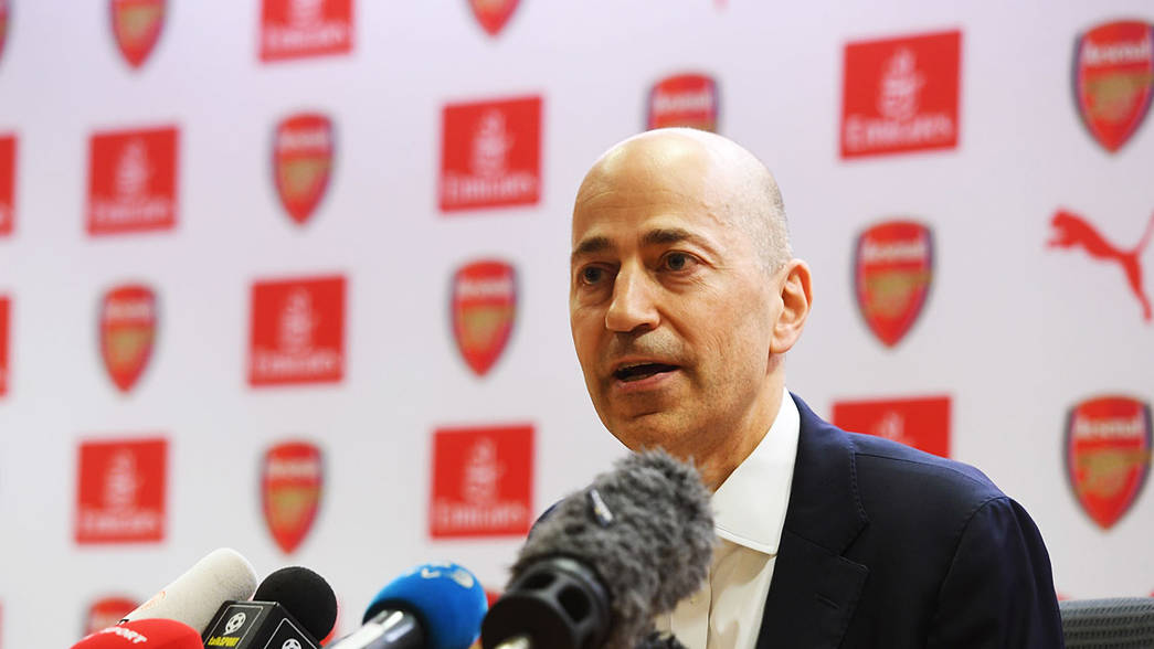 Ivan Gazidis Leaves Arsenal for CEO Position at AC Milan
