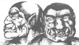 Moultcrocs - L'Ogre bicéphale originaire de la forêtde Mold