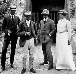 Tenues pour le safari en 1920