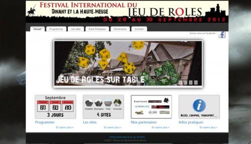Festival International du JdR a Dinant