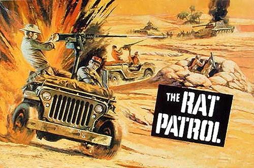 Les commandos du Désert - The Rat Patrol