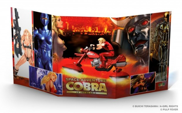 Ecran souple 3 volets de Space Adventure Cobra le jeu de rôle