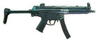 Pistolet-Auto HK MP5