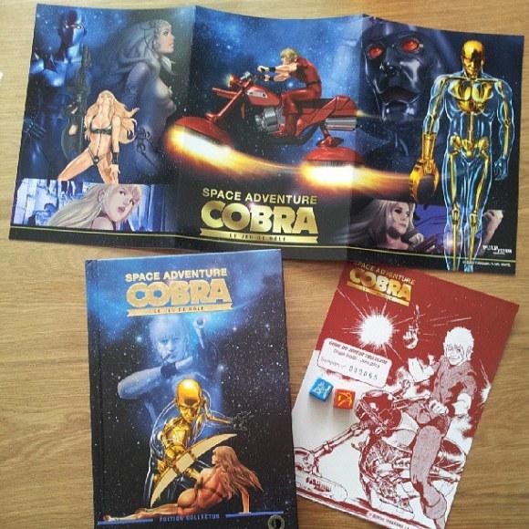 Space Adventure Cobra le jeu de rôle