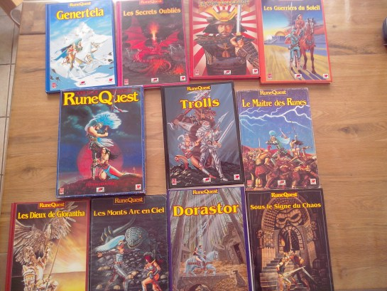 Collection RuneQuest le jeu de rôle