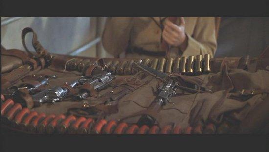 Le sac et le matériel de Rick O Connell