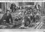HG Wells joue aux figurines