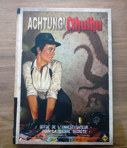 Couverture Achtung! Cthulhu