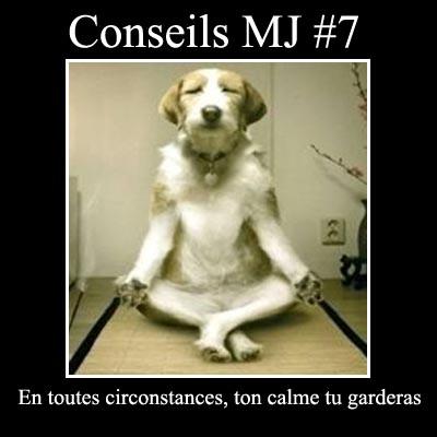 en toutes circonstances, ton calme tu garderas
