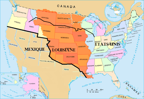 Louisiane 1810