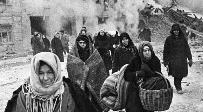 [Histoire] Le siège de Leningrad  1941 – 1944