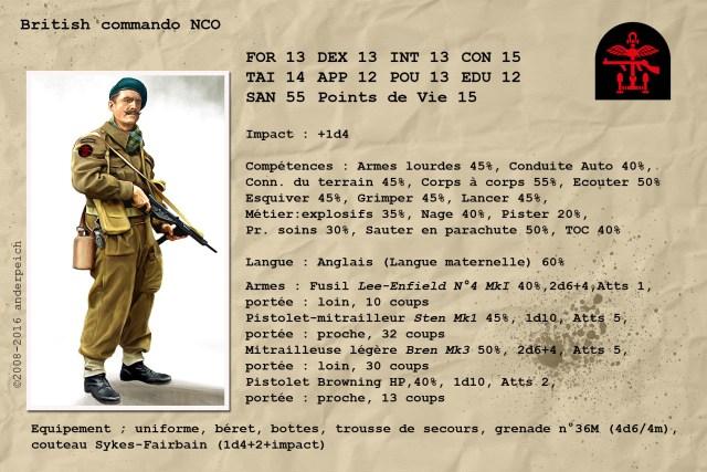 british commando