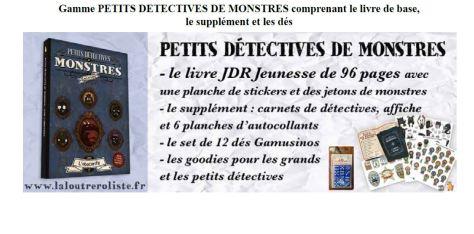 gamme Petits détectives de monstres