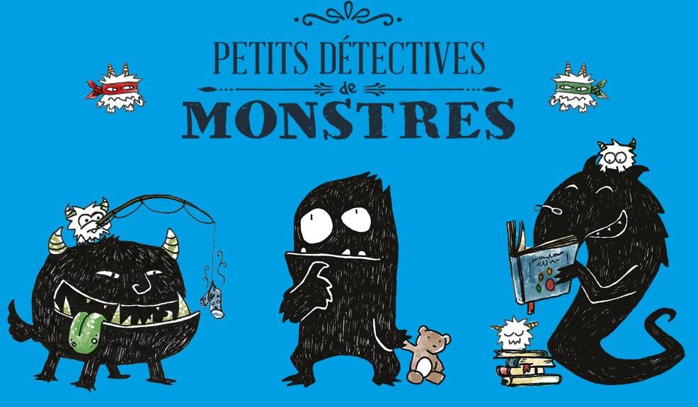Petits détectives de monstres, du jeu de rôle à partir de 3 ans