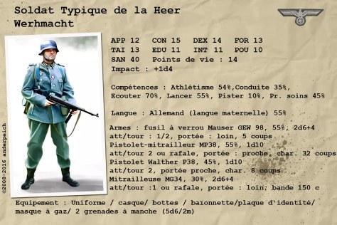 soldat de la heer