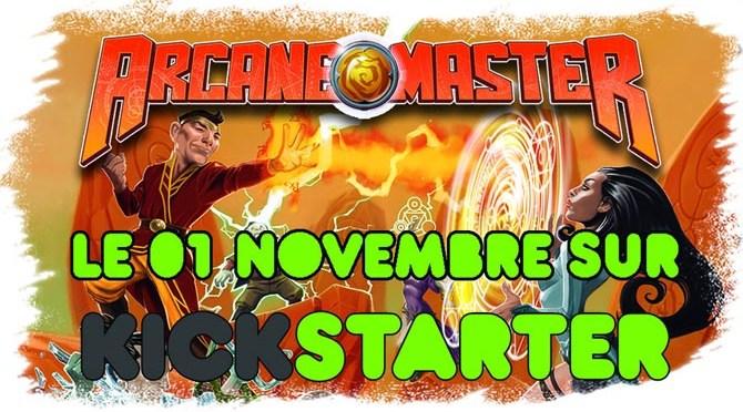 Arcane Master le premier novembre sur KickStarter